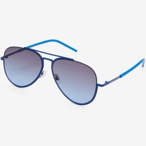 Marc Jacobs Blue Aviator Sunglasses